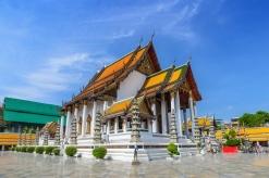 © Noppasinw | Dreamstime.com - Suthat Temple - Bangkok - Thailand Photo